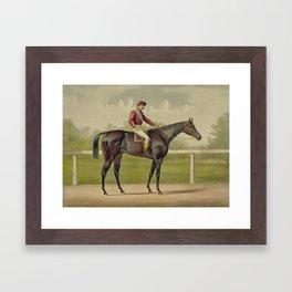 Grand Racer Kingston - Vintage Horse Racing Framed Art Print