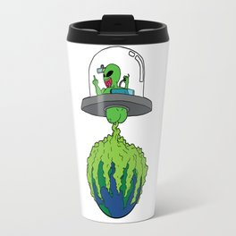 Part-time invader, full-time crop duster Travel Mug