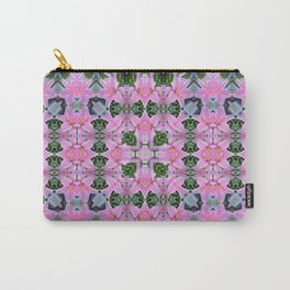 """PATTERN """"LILY ELODIE"""" SQUARE Carry-All Pouch"""