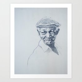 Ibrahim Ferrer de mi corazón Art Print