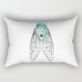 Cicadae Musicadae Rectangular Pillow