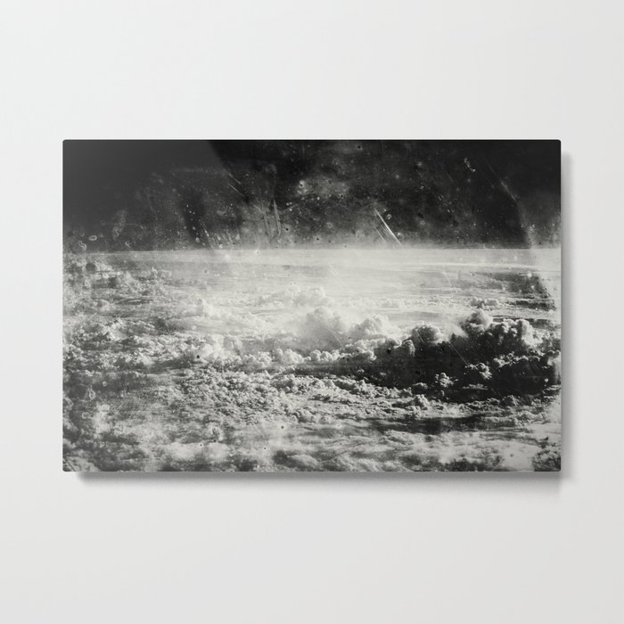 Somewhere Over The Clouds (I Metal Print