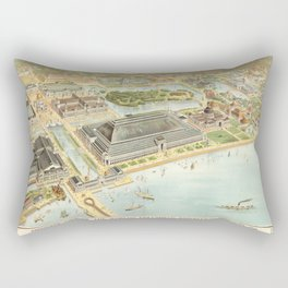 World's Columbian Exposition in Chicago 1893 Rectangular Pillow