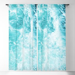 Perfect Sea Waves Blackout Curtain