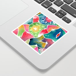 Magical World of Watercolor Sticker