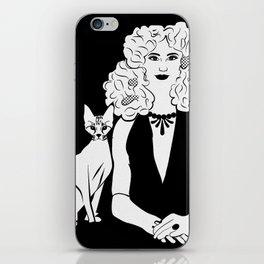 Poznanski-Cat3 iPhone Skin