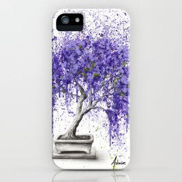 Balancing Bonsai iPhone Case