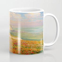 Václav Radimský (1867-1946) Normandy coast in bloom Impressionist Landscape Painting Bright Colors Coffee Mug
