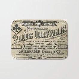Plaques Ultra Rapides Bath Mat