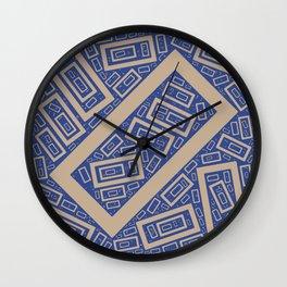 Rectangle Pattern Wall Clock