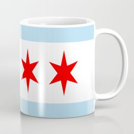 American cities-  Flag of  Chicago Coffee Mug