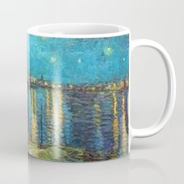 Starry Night Over the Rhone River by Vincent van Gogh Coffee Mug