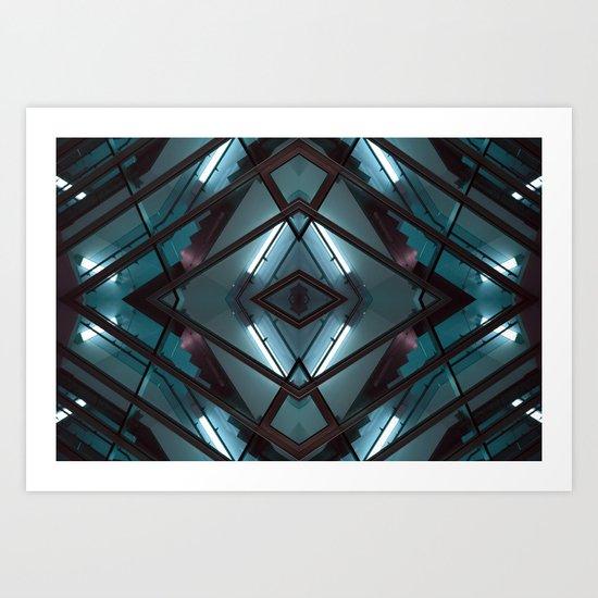 JWS 1111 (Symmetry Series) Art Print