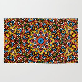 Arabesque kaleidoscopic Mosaic G518 Rug