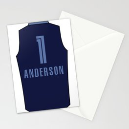 Kyle Anderson Jersey Stationery Cards