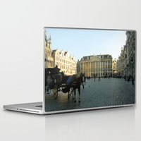brussels Laptop & iPad Skins featuring Brussels by Emily Brady