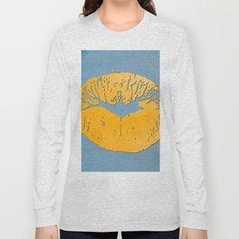 dp048-9 Watercolor kiss Long Sleeve T-shirt