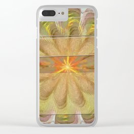 Sluffed Raw Flower  ID:16165-085108-61771 Clear iPhone Case