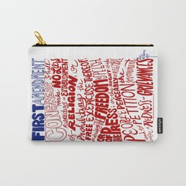 The First Amendment Carry-All Pouch