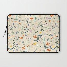 Retro Botanical Laptop Sleeve