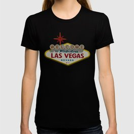 Famous Welcome To Las Vegas Sign T-shirt