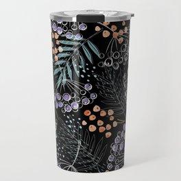 Berries and Leaves by Minikuosi Travel Mug