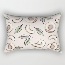 Peach Please Rectangular Pillow