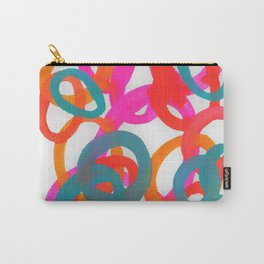 Happy bright swirls Carry-All Pouch