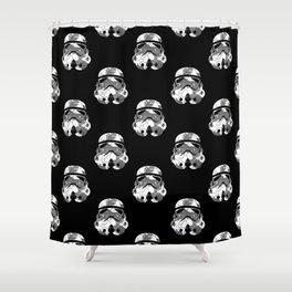Stormtrooper Contrast Pattern 2 Shower Curtain