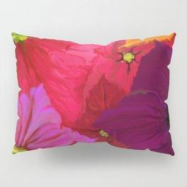 Surfinie and anemones Pillow Sham