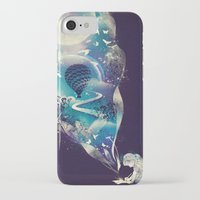 skull iPhone & iPod Cases featuring Dream Big by dan elijah g. fajardo