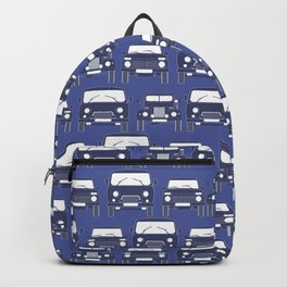 Old Russian cars Backpack