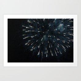 Firework III Art Print