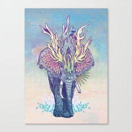 Spirit Animal - Elephant Canvas Print