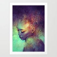 camouflage Art Prints featuring Camouflage by Anna Dittmann