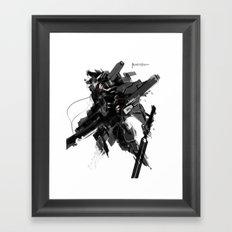 The Jackal Framed Art Print