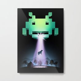 The Invaders Metal Print