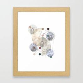 FUTURE UNIVERSE Framed Art Print