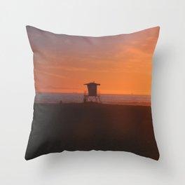 LIFEGUARD TOWER II Throw Pillow