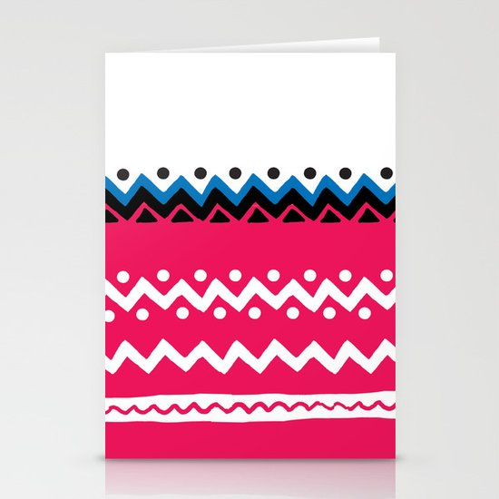 Polygons shape Stationery Cards