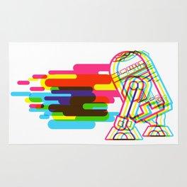 Technicolor R2D2 Rug