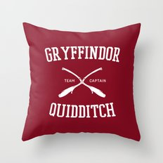 Hogwarts Quidditch Team: Gryffindor Throw Pillow