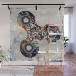 Graffiti Fidget Spinner Wall Mural