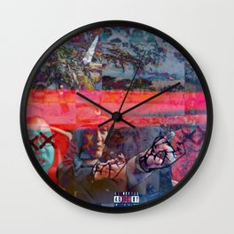 THE BOMBS OF MEMOIRS _MEMORIAL DAY COLLECTION_ Wall Clock