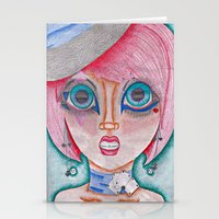 poker Stationery Cards featuring poker face by Scenccentric Creations