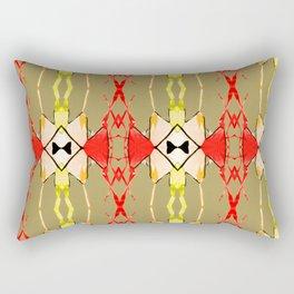Caballero Simple de Amor Rectangular Pillow