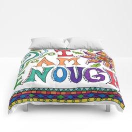 I Am Enough Comforters