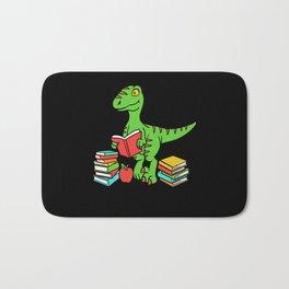Velocireader Dinosaurs School School Books Motif Bath Mat