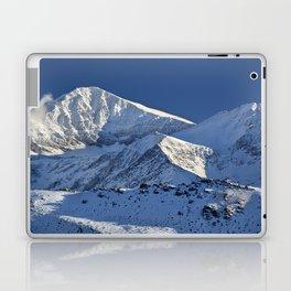 Snowy mountains. 3.478 meters Laptop & iPad Skin