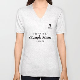 Olympic Flame S.C. Club Gear Unisex V-Neck